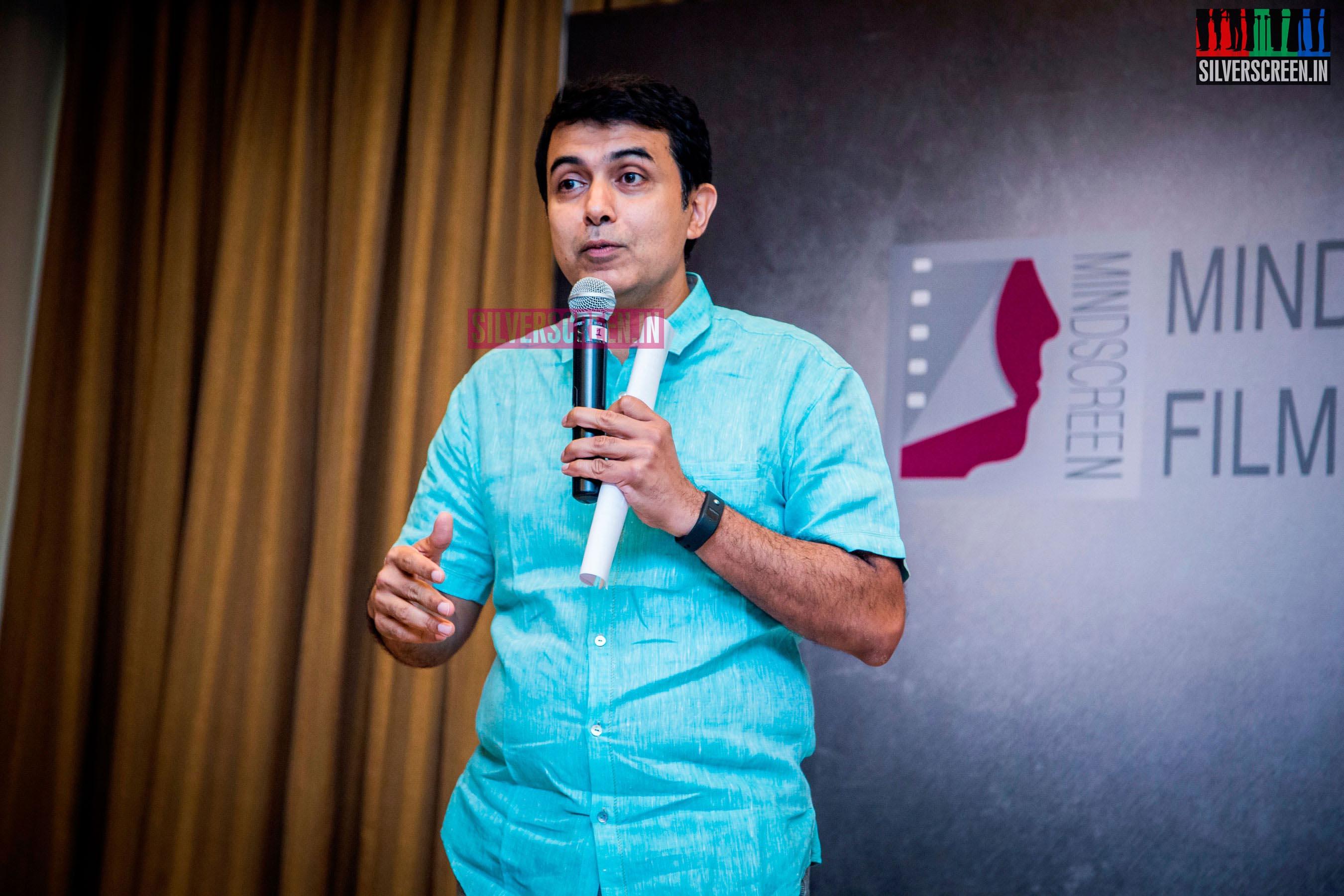 at Mindscreen Film Institute Launch