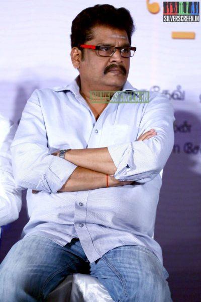 KS Ravikumar at the Natpathigaram – 79 Movie Audio Launch Photos