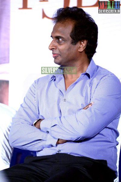 Arun Pandian at the Natpathigaram – 79 Movie Audio Launch Photos