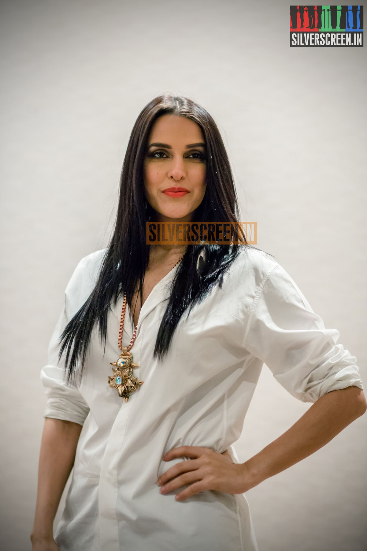 Privacy Policy >> Neha Dhupia HQ Photos from a Fashion Event in Chennai | Silverscreen.in