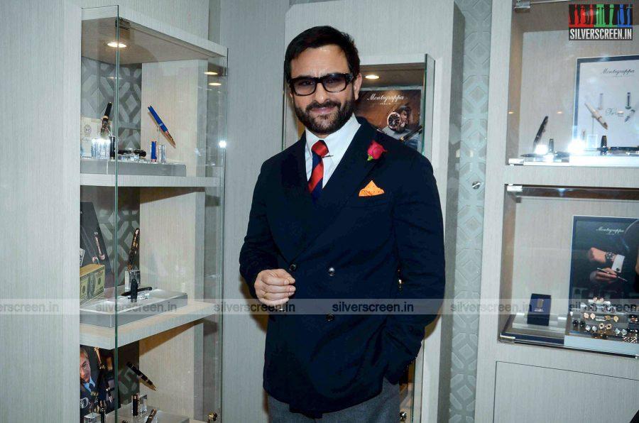 Saif Ali Khan Launches Montegrappa Italy luxury Brand