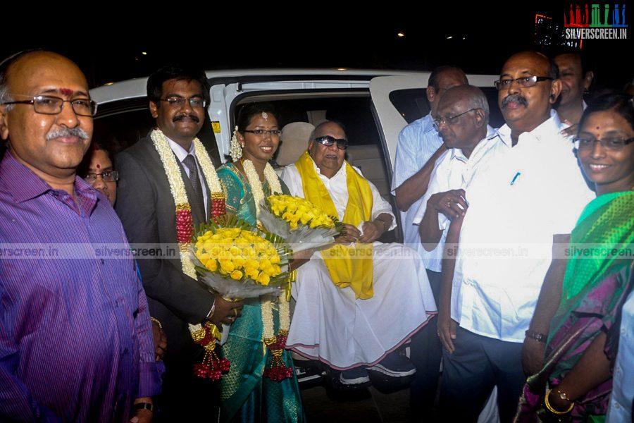 SP Muthuraman Family Wedding Reception Stills