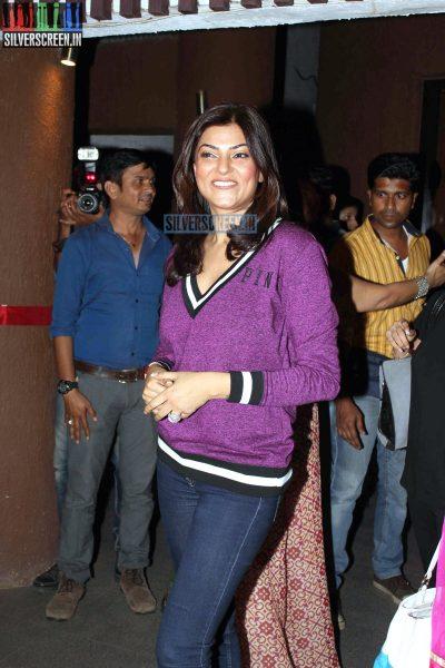 Sushmita Sen at Sohum Spa Launch
