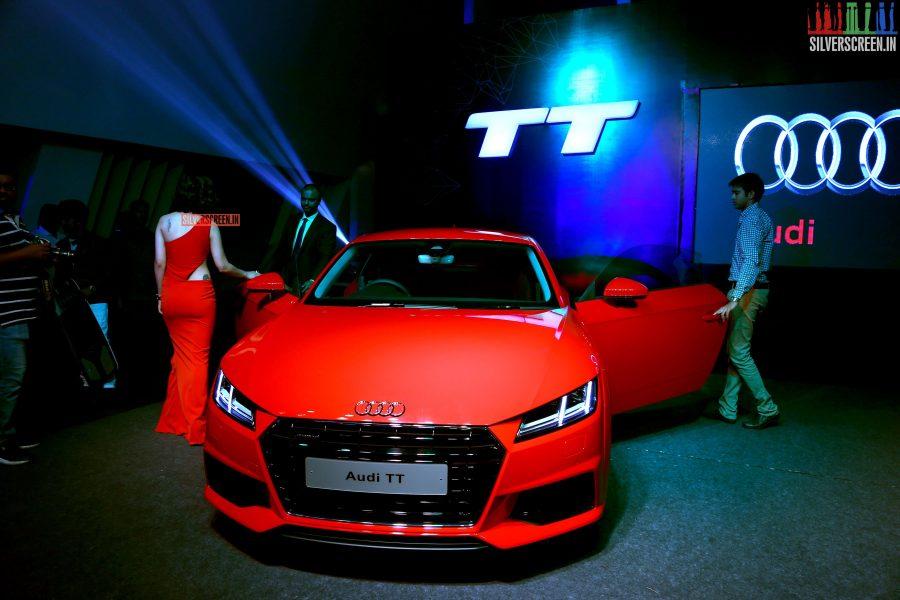 at Audi TT Coupe Launch