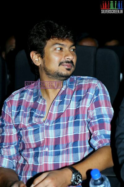 Udhayanidhi Stalin at the Inimey Ippadithaan Audio Launch