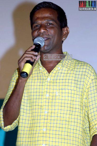 Gaana Bala at the Inimey Ippadithaan Audio Launch