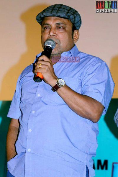 Thambi Ramaiah at the Inimey Ippadithaan Audio Launch