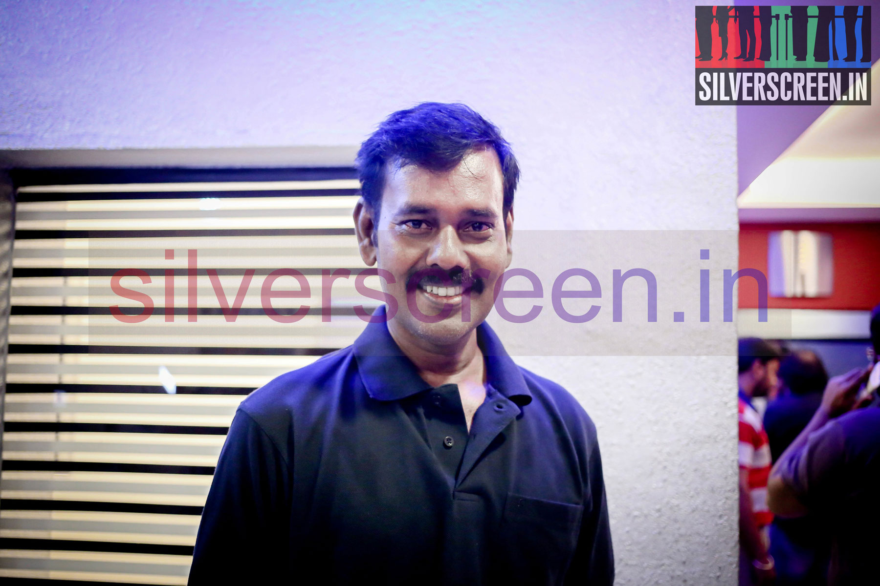 Actor Natarajan Subramaniam at Sathuranga Vettai Press Show
