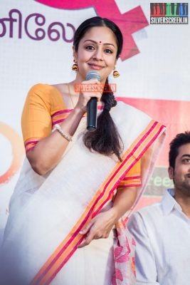 Suriya and Jyothika HQ Photos from 36 Vayadhinile Success Meet