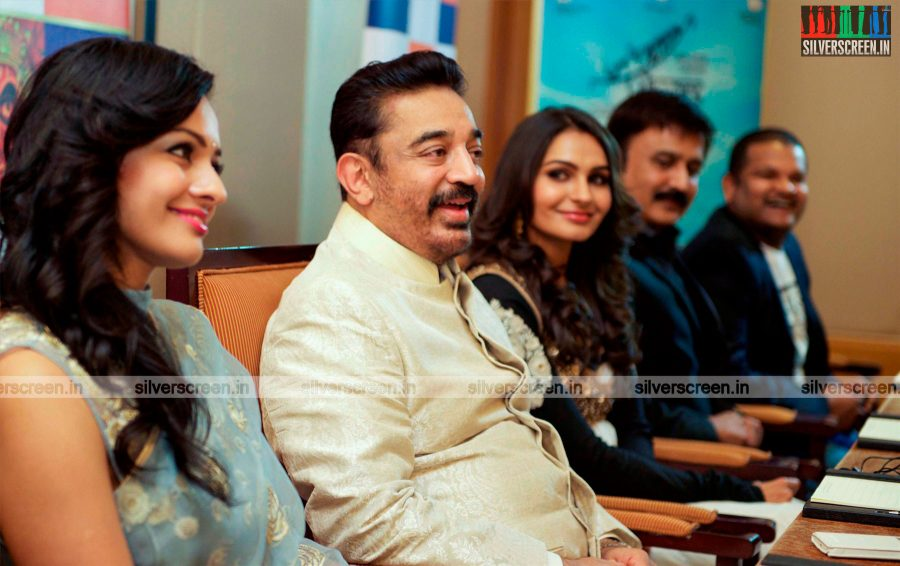 Uttama Villain Movie Premiere Photos