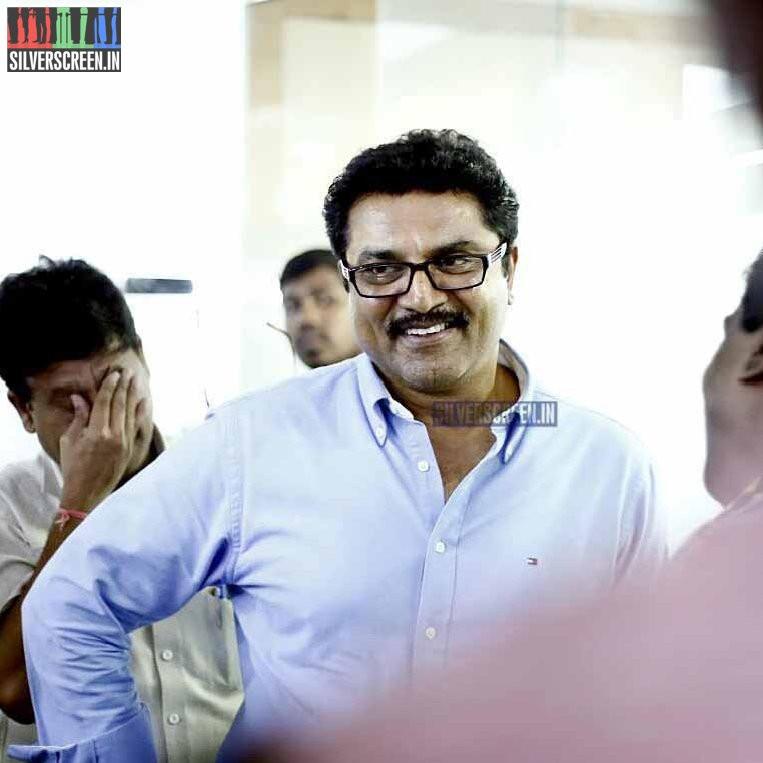 Sarathkumar at Uttama Villain Press Meet