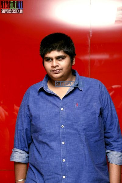 Karthik Subbaraj at the Vaaimai Audio Launch Photos