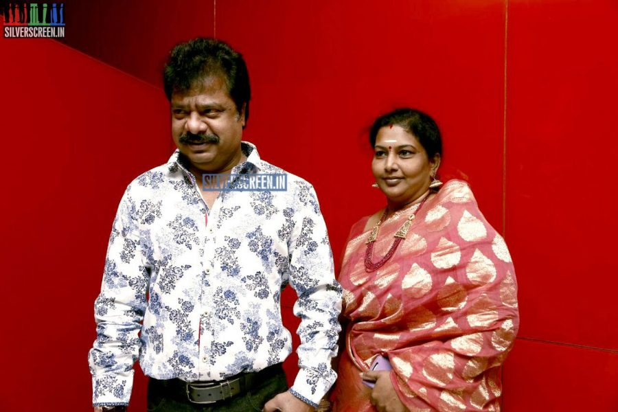 R Pandiarajan at the Vaaimai Audio Launch Photos