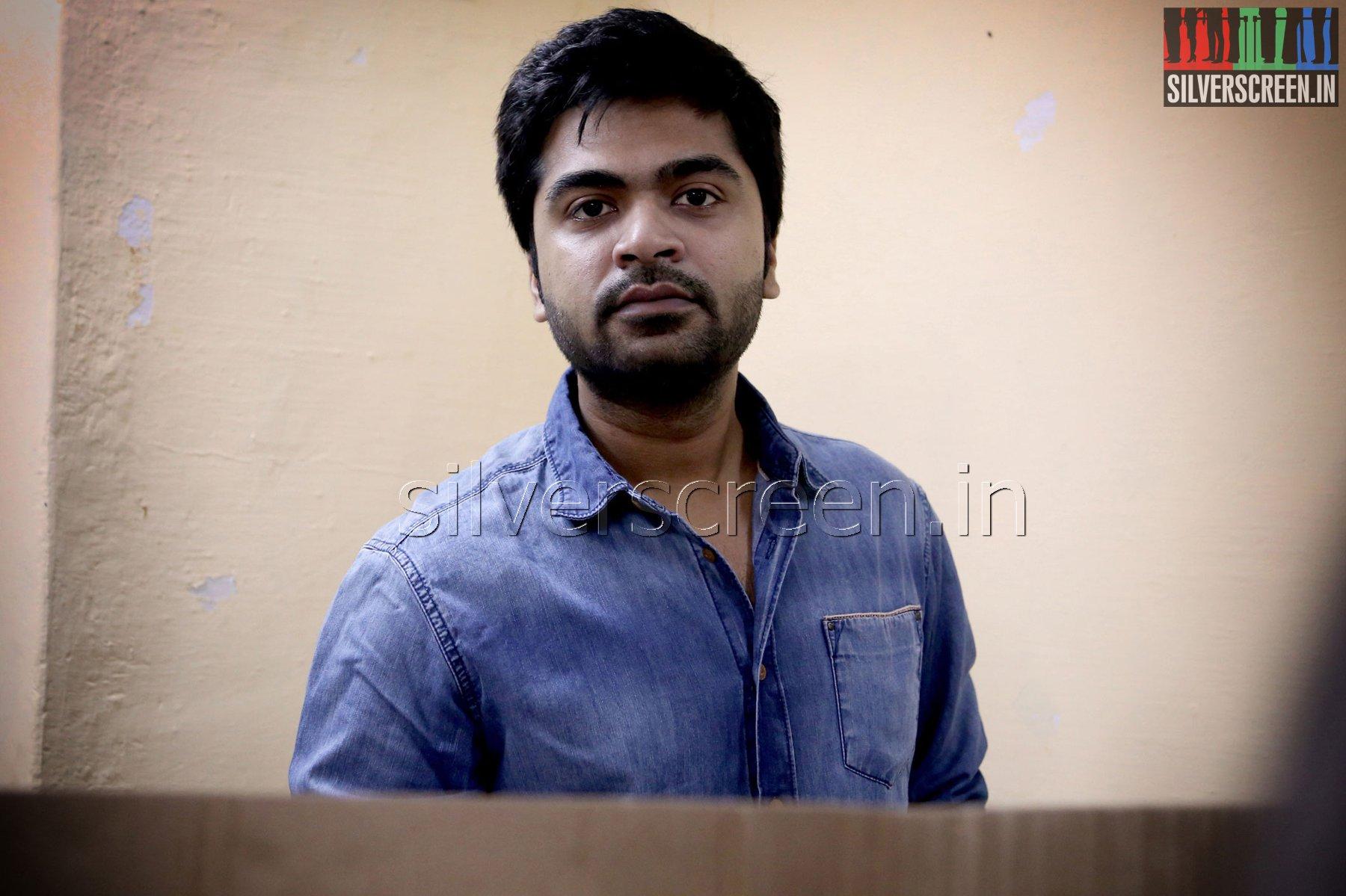 Actor STR votes in Lok Sabha Elections 2014