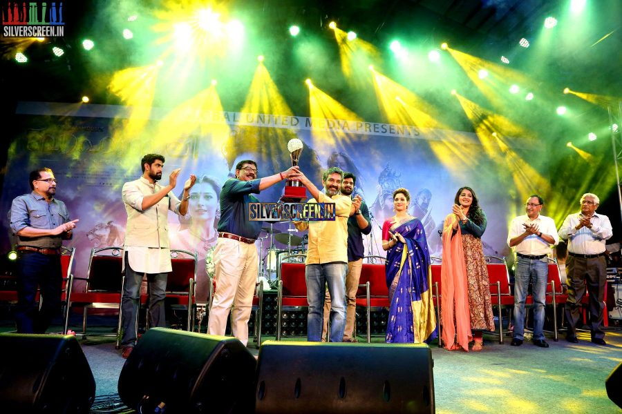 at Baahubali Audio Launch