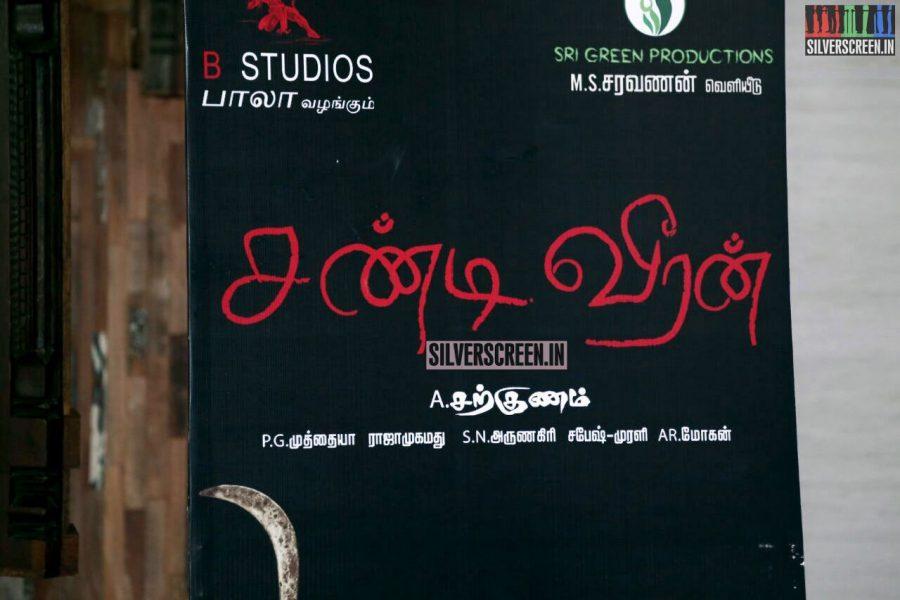 Chandiveeran Audio Launch Photos