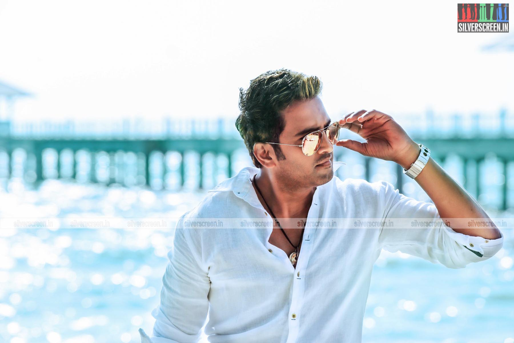Santhanm in Inimey Ippadithaan Movie stills