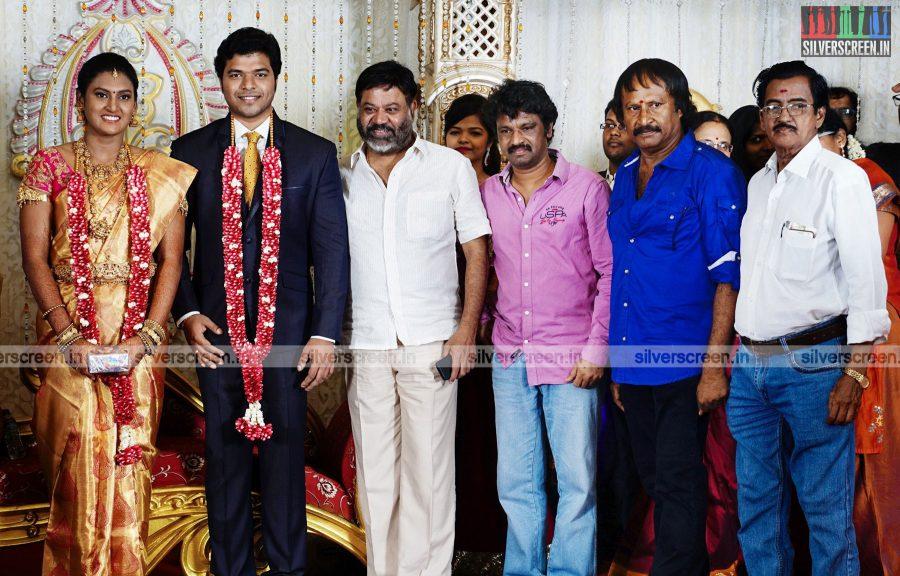 Cinematographer KS Selvaraj's Daughter Wedding Reception Photos