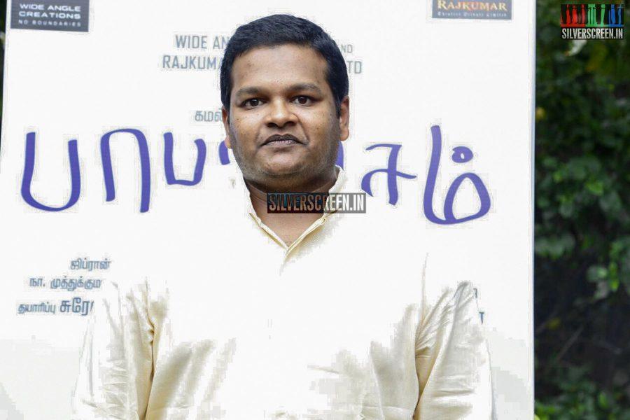 at Papanasam Press Meet