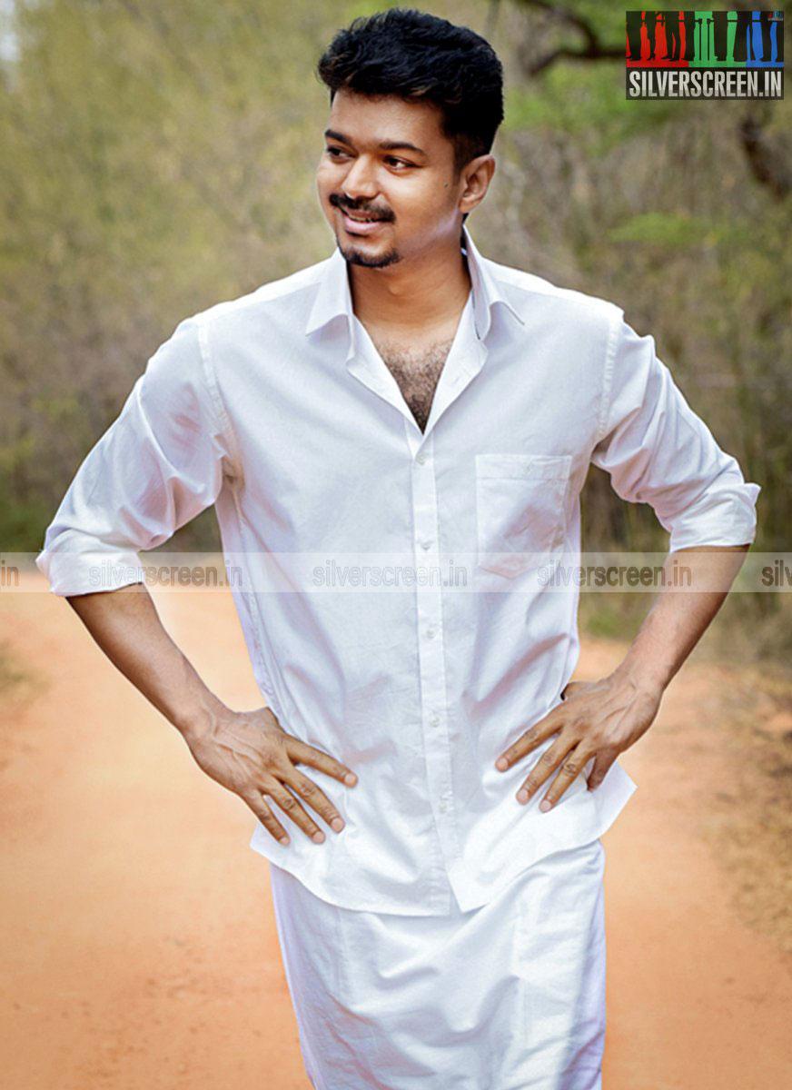 Actor Vijay in Puli Movie Stills