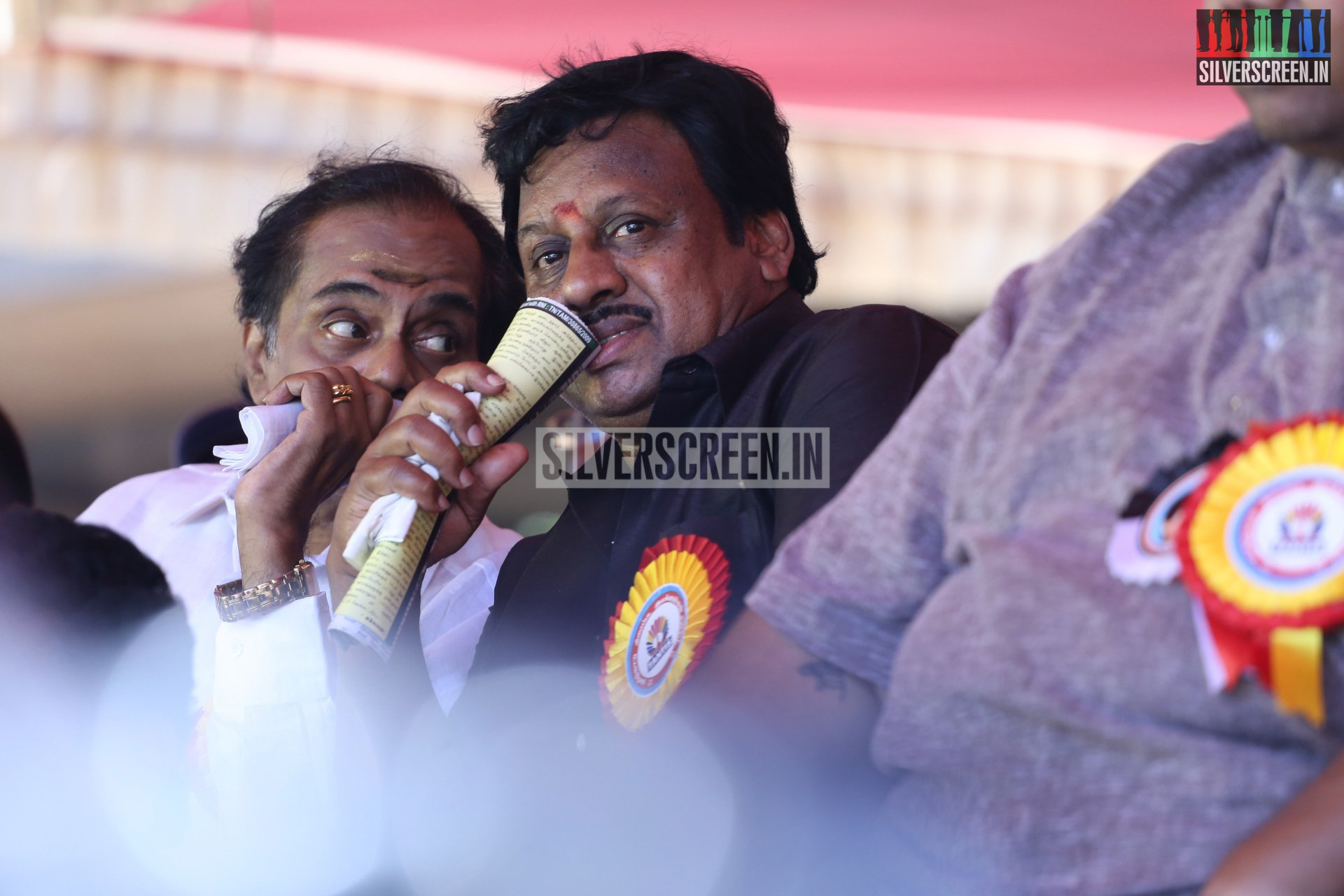 Actress Died 2016 Tamil Film Industry Hunger Strike Stills