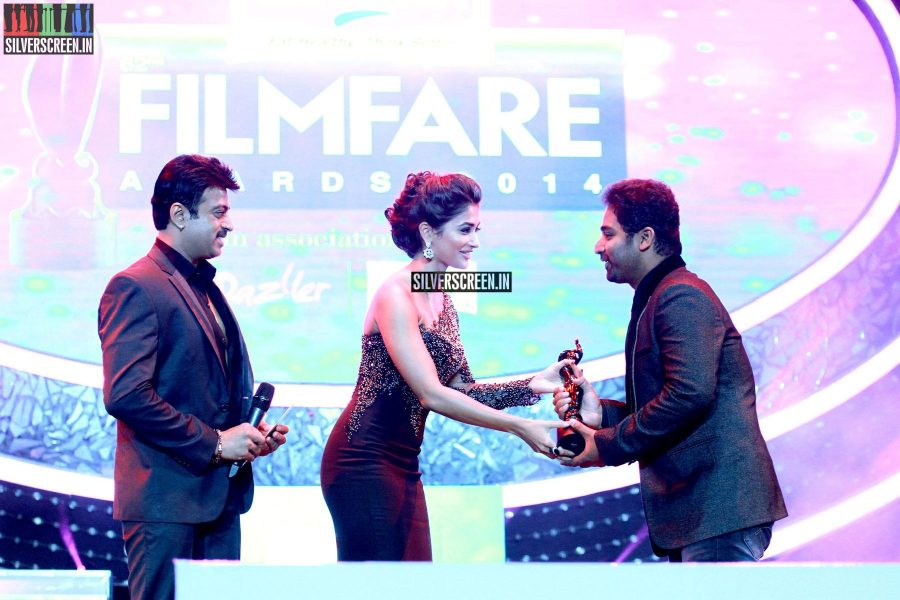 Pooja Hegde at the 62nd Filmfare Awards South Photos