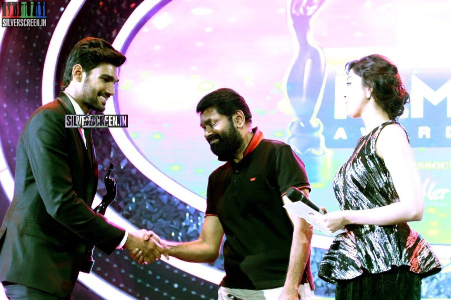 Director Vasanth at the 62nd Filmfare Awards South Photos