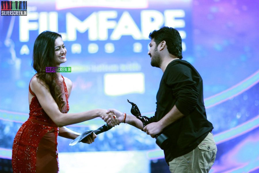 Shubra Aiyappa at the 62nd Filmfare Awards South Photos