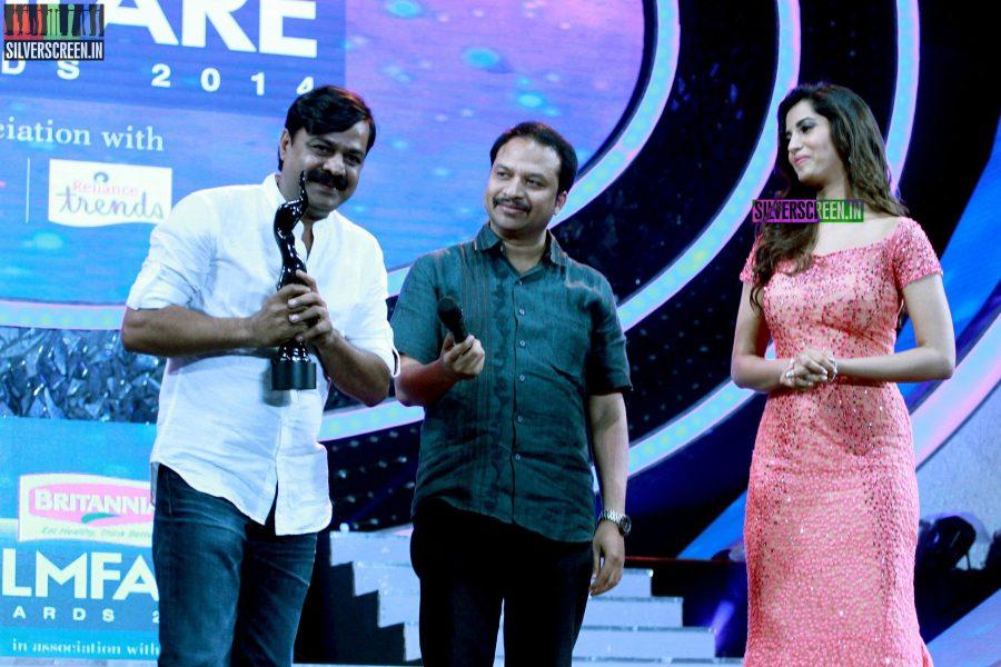 Manasvi Mamgai at the 62nd Filmfare Awards South Photos