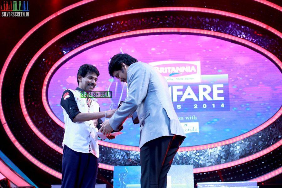 Director Bala at the 62nd Filmfare Awards South Photos