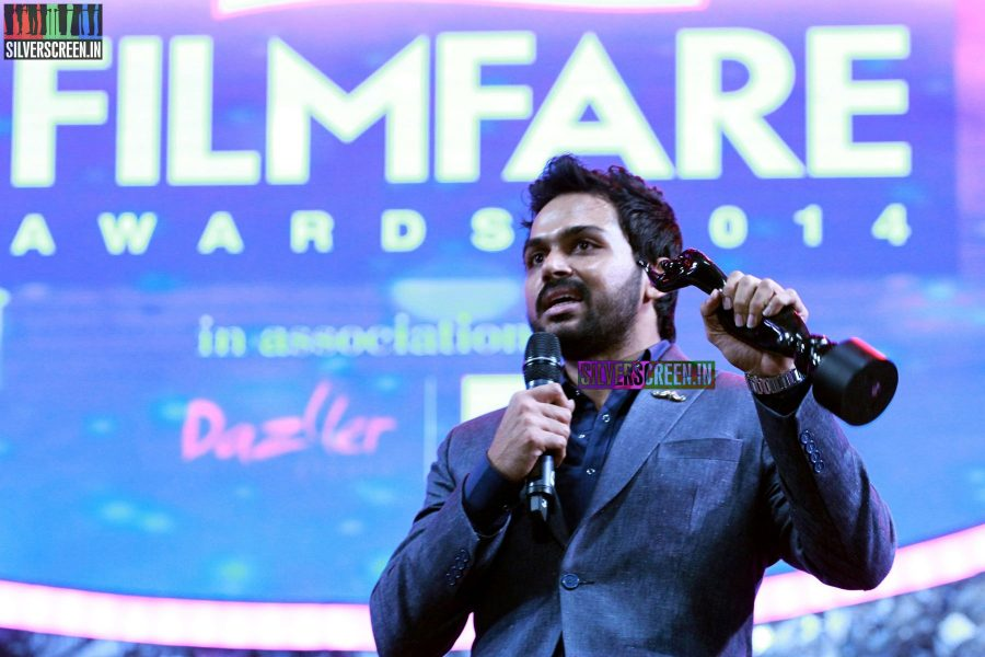 Karthi Sivakumar at the 62nd Filmfare Awards South Photos