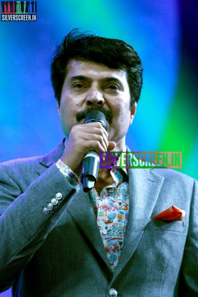 Mammootty at the 62nd Filmfare Awards South Photos