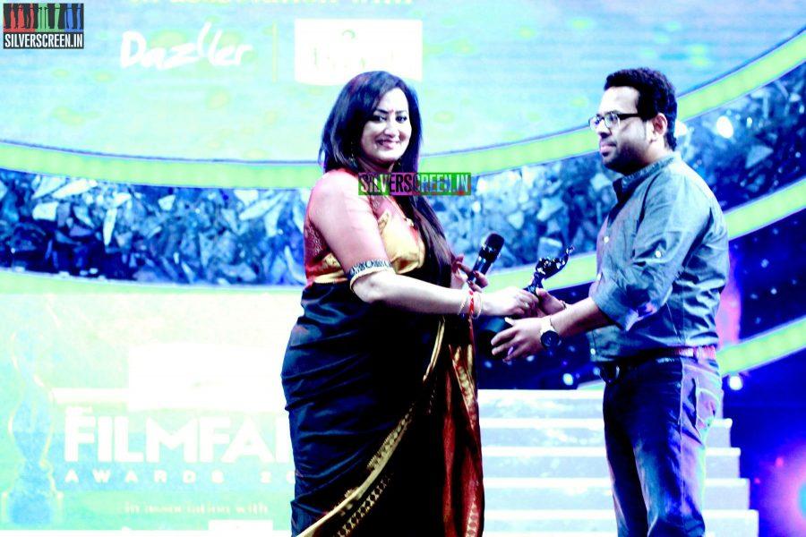Sumalatha at the 62nd Filmfare Awards South Photos