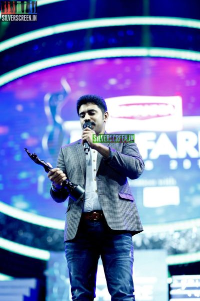 Nivin Pauly at the 62nd Filmfare Awards South Photos