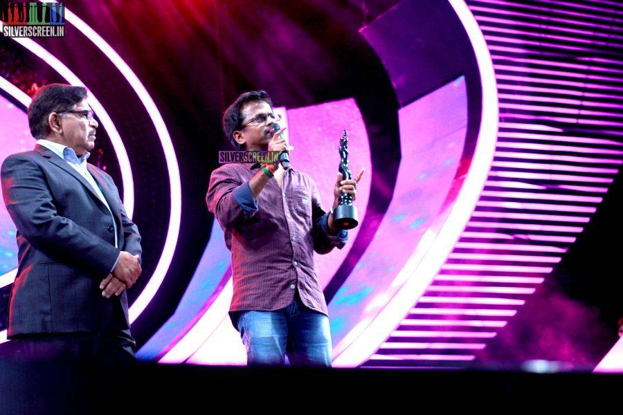 Director AR Murugadoss at the 62nd Filmfare Awards South Photos