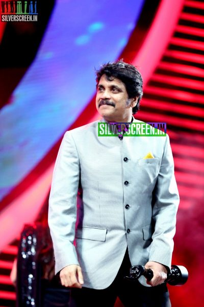 Nagarjuna at the 62nd Filmfare Awards South Photos