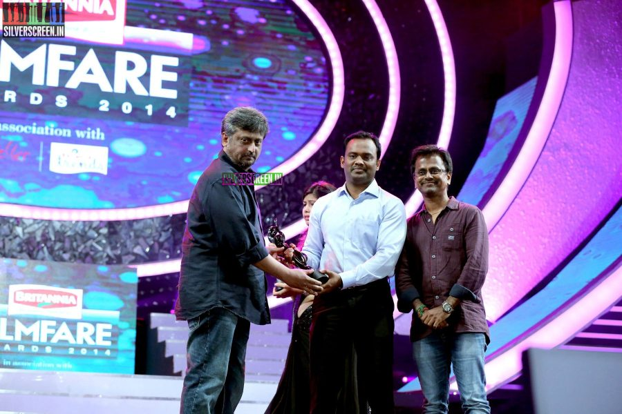 Directors AR Murugadoss and Dharani at the 62nd Filmfare Awards South Photos