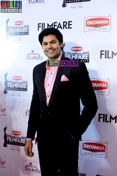 Ganesh Venkatraman at the 62nd Filmfare Awards South Photos