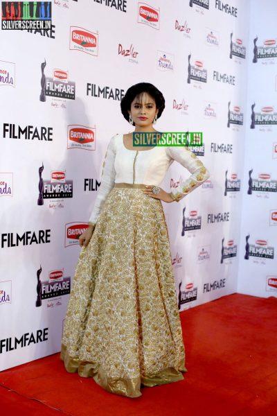 Nandita Swetha at the 62nd Filmfare Awards South Photos