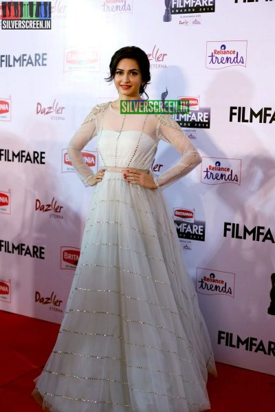 Kriti Kharbanda at the 62nd Filmfare Awards South Photos