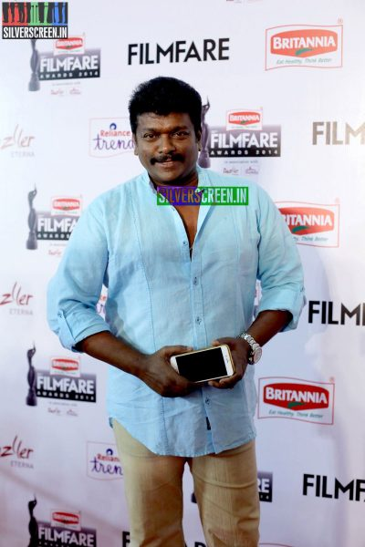 R Parthiepan at the 62nd Filmfare Awards South Photos