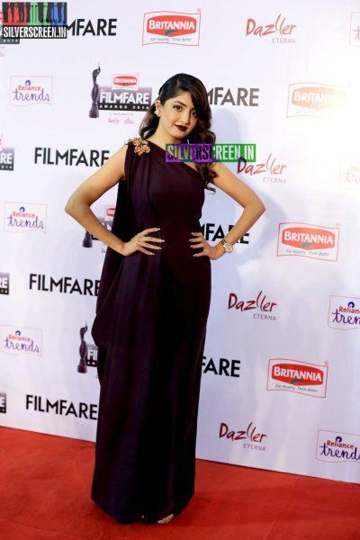Poonam Kaur at the 62nd Filmfare Awards South Photos