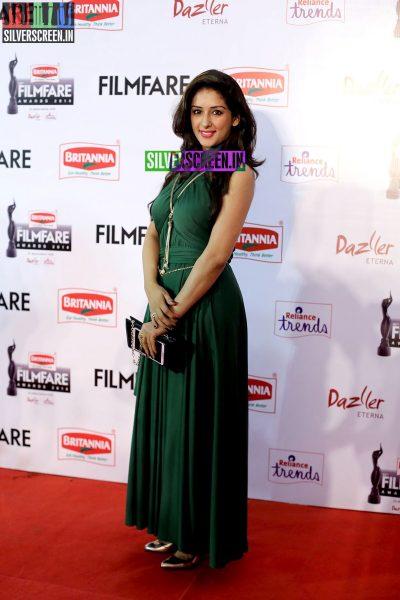 Sameksha at the 62nd Filmfare Awards South Photos