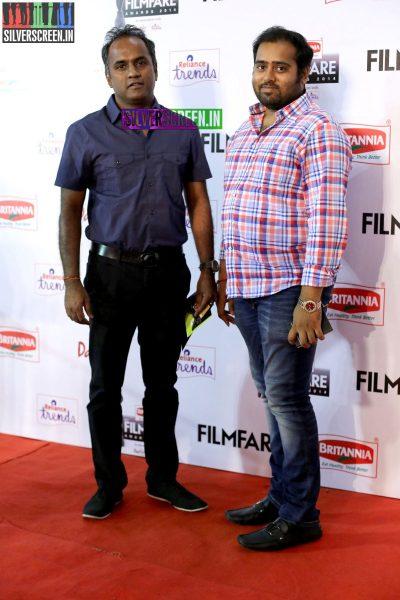 S Sashikanth at the 62nd Filmfare Awards South Photos