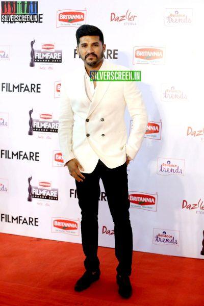 Vijay Yesudas at the 62nd Filmfare Awards South Photos