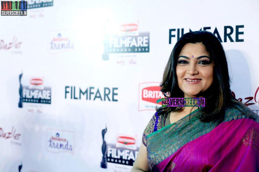 Kushboo Sundar at the 62nd Filmfare Awards South Photos