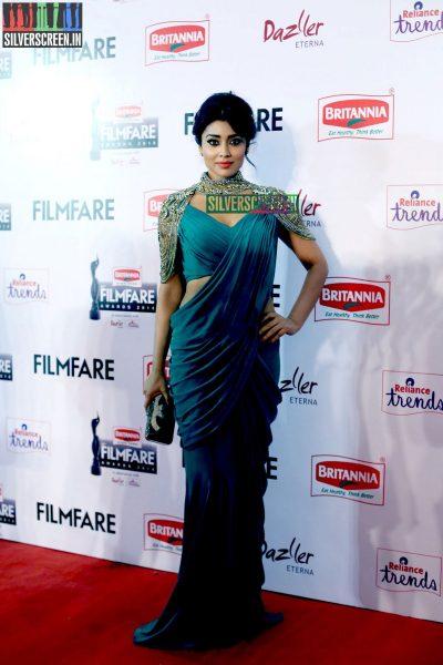 Shriya Saran at the 62nd Filmfare Awards South Photos