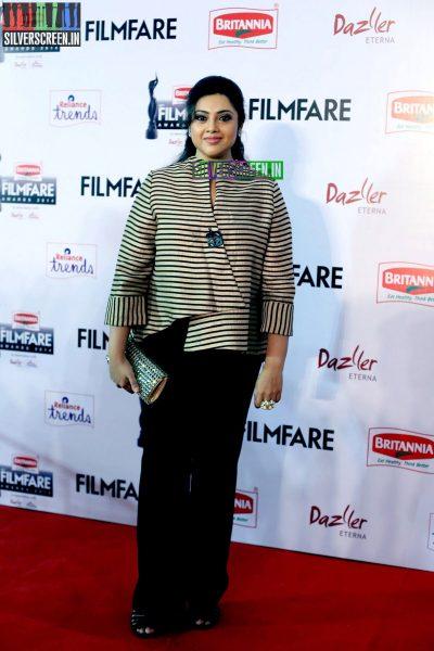 Meena at the 62nd Filmfare Awards South Photos