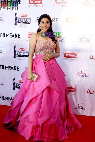 Regina Cassandra at the 62nd Filmfare Awards South Photos