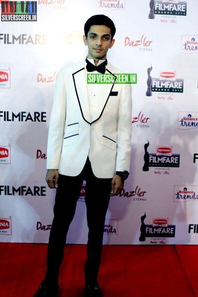Anirudh Ravichander at the 62nd Filmfare Awards South Photos